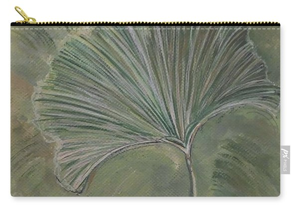 Ginko Leaf Carry-all Pouch