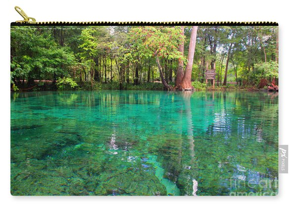 Ginnie Spring Along The Santa Fe Carry-all Pouch