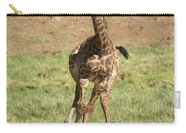 Giraffe Calf Running Carry-all Pouch