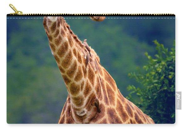 Giraffe Portrait Closeup Carry-all Pouch