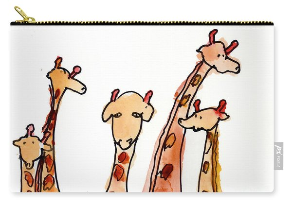 Giraffes Carry-all Pouch