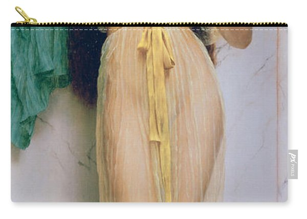 Girl With A Mirror Carry-all Pouch