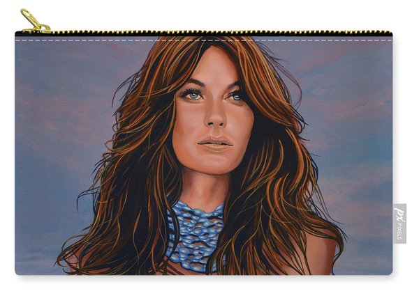 Gisele Bundchen Painting Carry-all Pouch