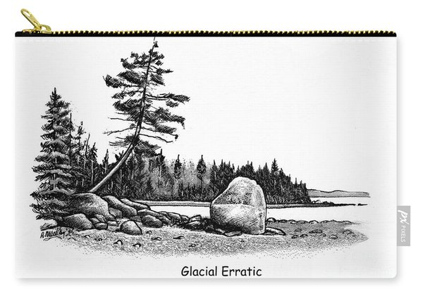 Glacial Erratic Carry-all Pouch