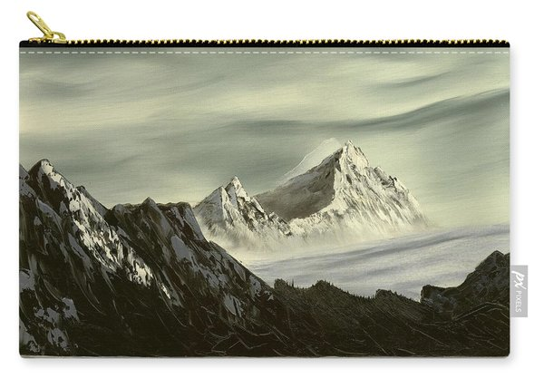 Glacial Peaks Carry-all Pouch