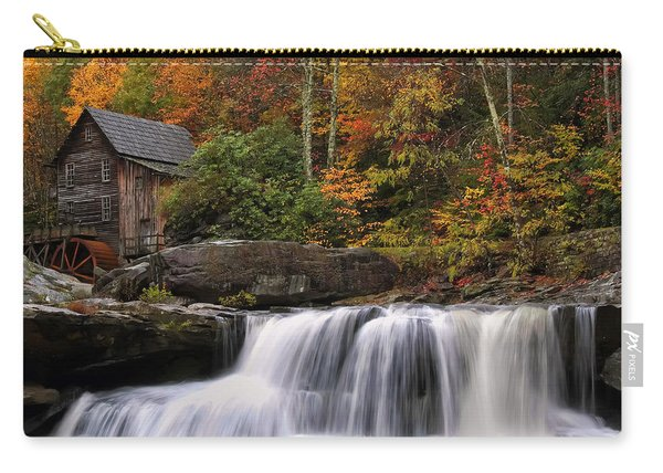 Glade Creek Grist Mill - Photo Carry-all Pouch