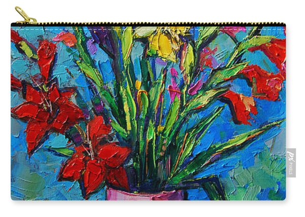 Gladioli In A Vase Carry-all Pouch