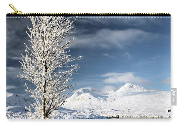 Glencoe Winter Landscape Carry-all Pouch