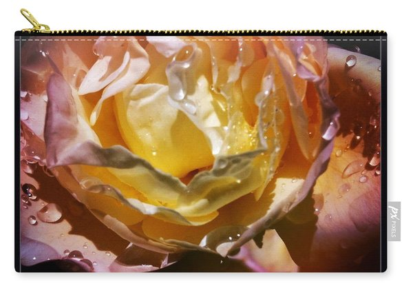 Glistening Rose Carry-all Pouch