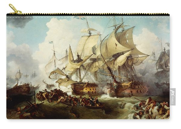 Glorious First Of June Or Third Battle Of Ushant Between English And French Carry-all Pouch