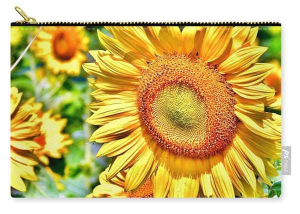 Glorious Sunflowers Carry-all Pouch