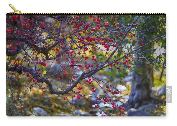 Glowing Branches Carry-all Pouch