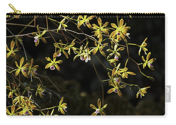 Glowing Orchids Carry-all Pouch
