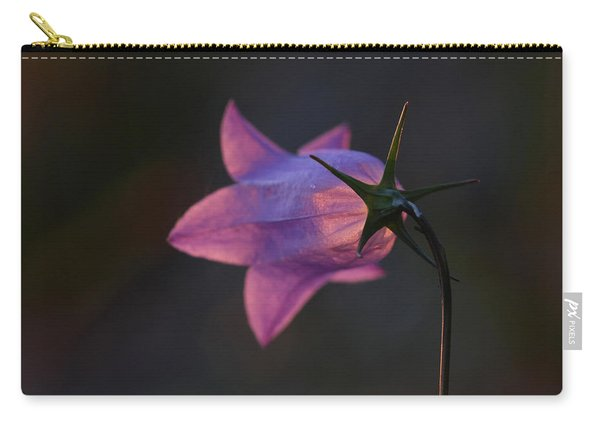 Glowing Sunset Flower Carry-all Pouch