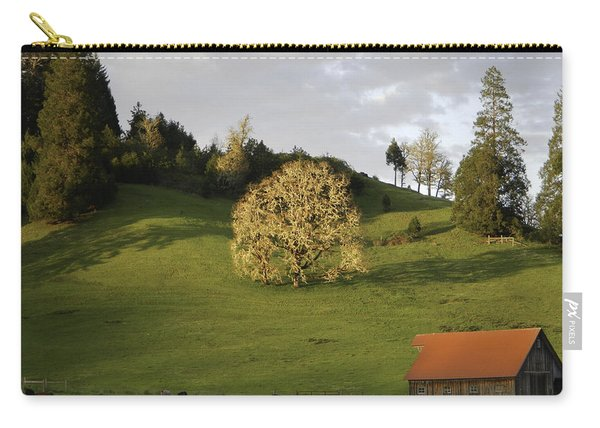 Glowing Tree Moss Carry-all Pouch
