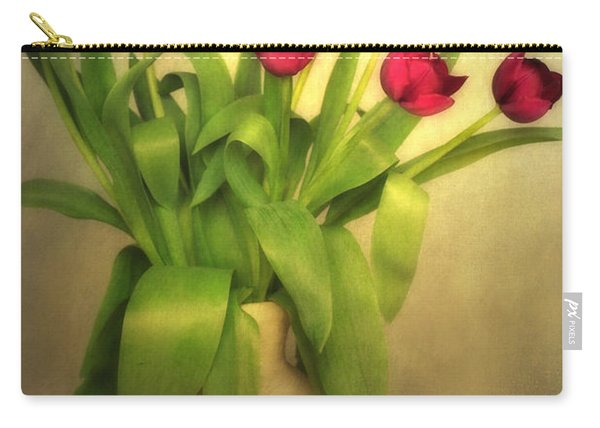 Glowing Tulips Carry-all Pouch