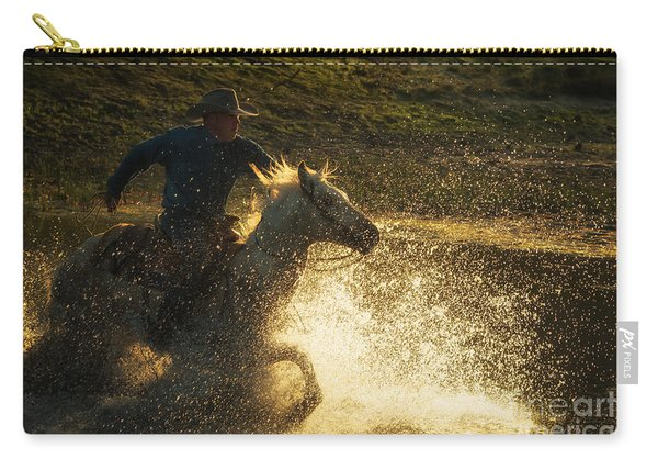 Go Cowboy Carry-all Pouch