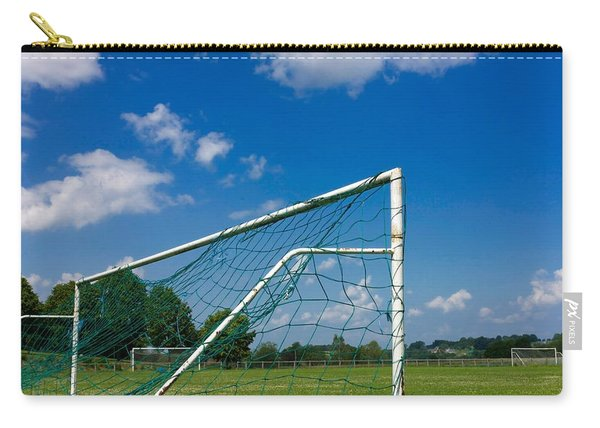 Goal. Football Pitch. France Carry-all Pouch