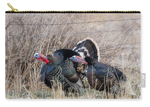 Gobbling Turkeys Carry-all Pouch