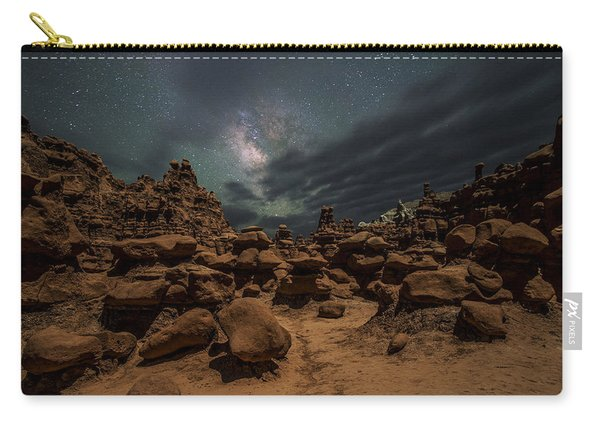 Carry-all Pouch featuring the photograph Goblins Realm by Dustin  LeFevre
