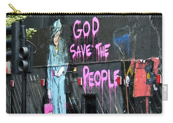 God Save The People Carry-all Pouch