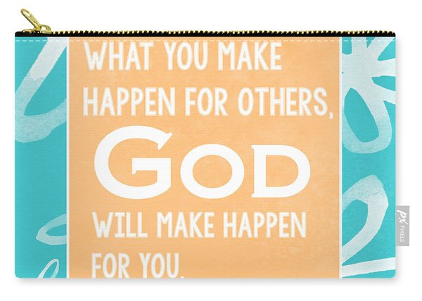 God's Gift - Blue Carry-all Pouch