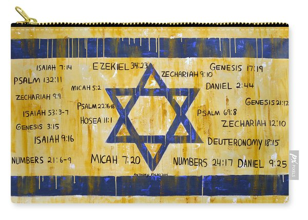 Gods Love For Israel Carry-all Pouch