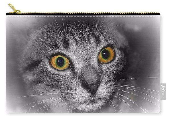 Gold Eyes Carry-all Pouch