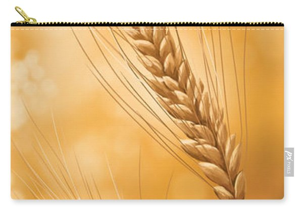 Gold Grain Carry-all Pouch