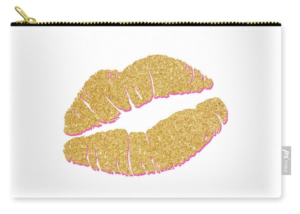 Gold Kiss Carry-all Pouch