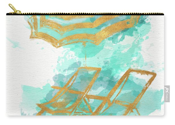 Gold Shore Poster Carry-all Pouch