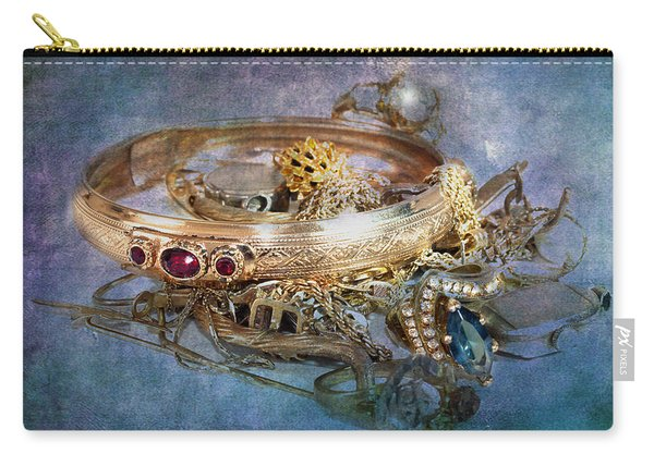 Gold Treasure Carry-all Pouch