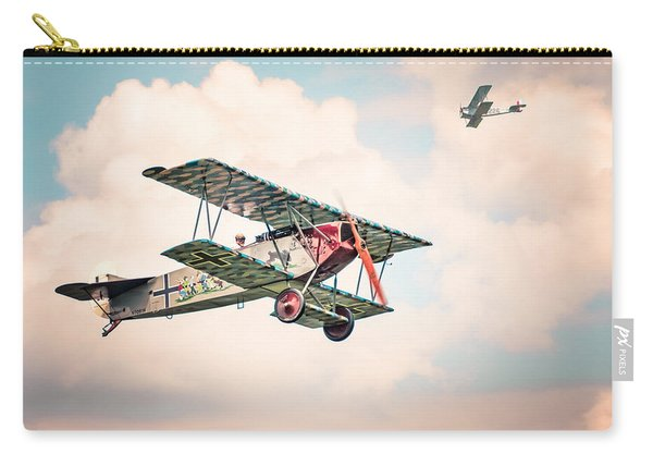 Golden Age Of Aviation - Replica Fokker D Vll - World War I Carry-all Pouch