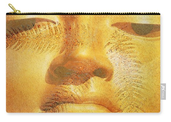 Golden Buddha - Art By Sharon Cummings Carry-all Pouch