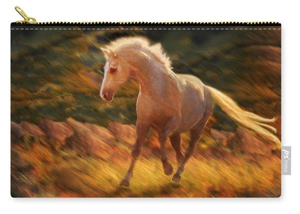 Golden Diva Carry-all Pouch