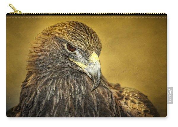 Golden Eagle Portrait Carry-all Pouch