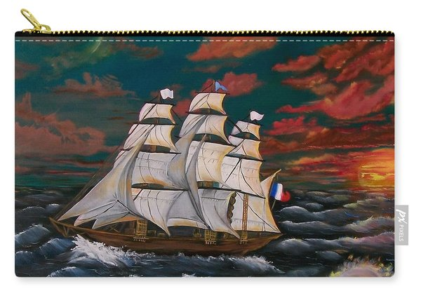 Golden Era Of Sail Carry-all Pouch