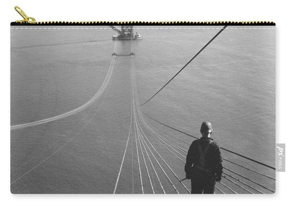 Golden Gate Bridge Cables Carry-all Pouch