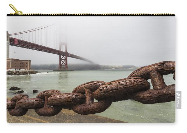 Golden Gate Bridge Chain Carry-all Pouch