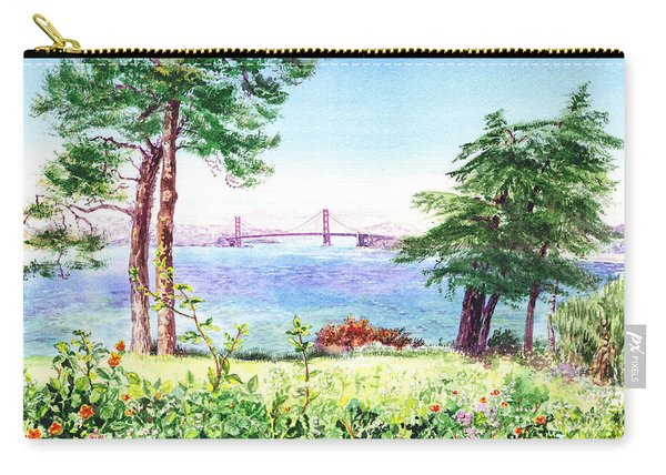 Golden Gate Bridge View From Lincoln Park San Francisco Carry-all Pouch