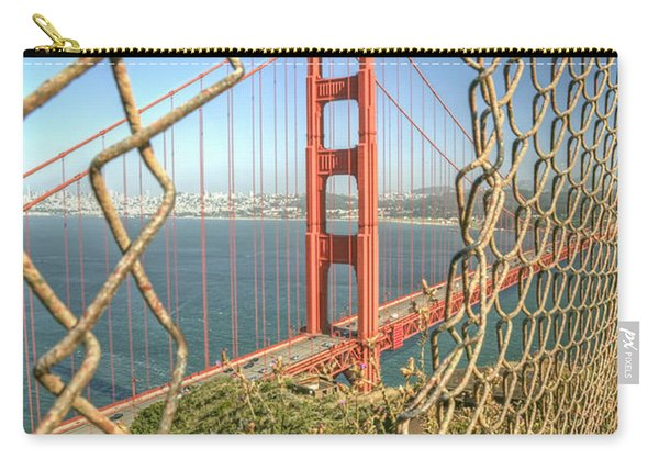 Golden Gate Through The Fence Carry-all Pouch