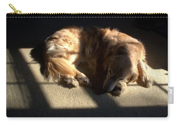 Golden In Sunlight Carry-all Pouch