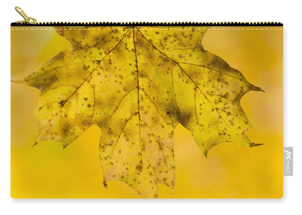 Golden Maple Leaf Carry-all Pouch