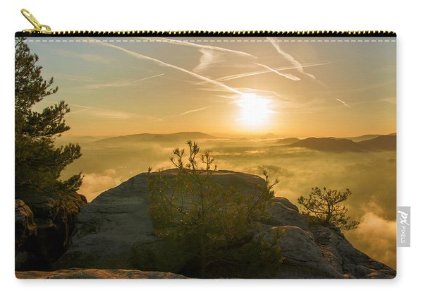 Golden Morning On The Lilienstein Carry-all Pouch