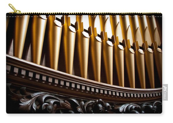 Golden Organ Pipes Carry-all Pouch