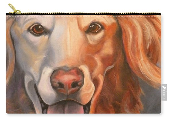 Golden Retriever Till There Was You Carry-all Pouch
