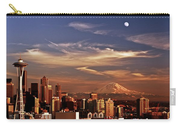 Golden Seattle Carry-all Pouch