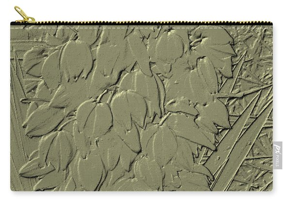 Golden Stone   Flowers Carry-all Pouch