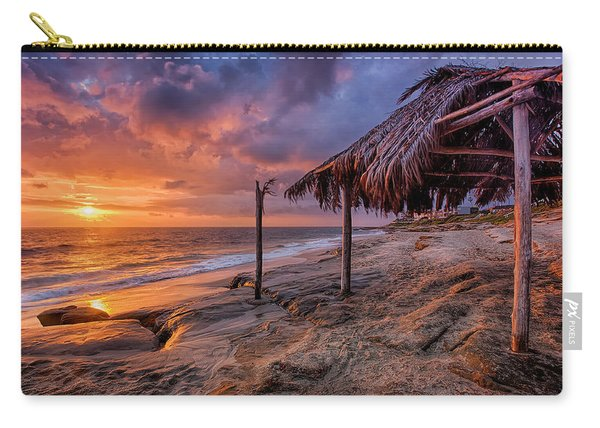 Golden Sunset The Surf Shack Carry-all Pouch