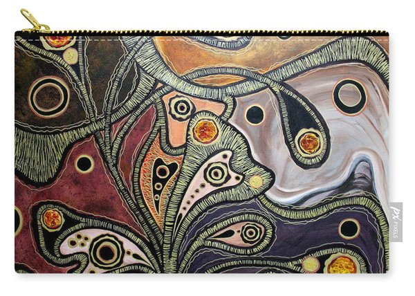 Golden Thought Carry-all Pouch